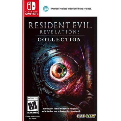 Switch Resident Evil Revelations