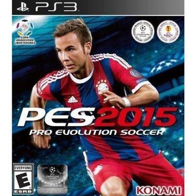 PS3 PES Pro Evolution Soccer 2015