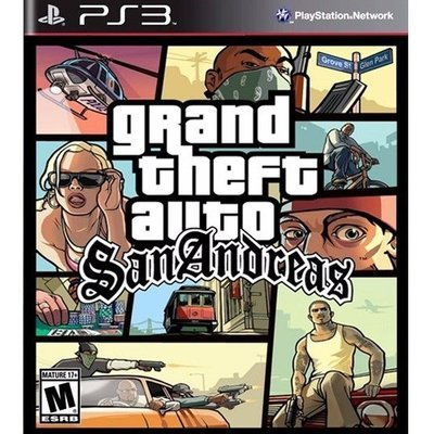 PS3  Grand Theft Auto San andreas
