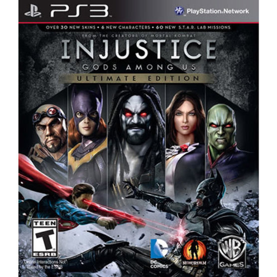 PS3  Injustice God Among us Ultimate