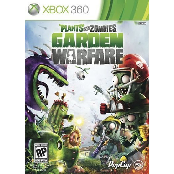 XBOX 360 Plant Vs Zombies Garden Warfare