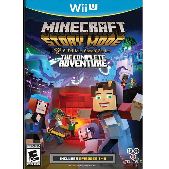 WiiU Minecraft the complete adventure