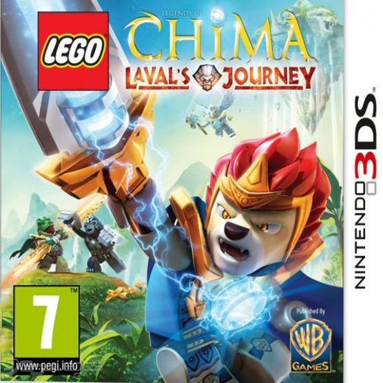 DS Lego Chima Lavals Journey