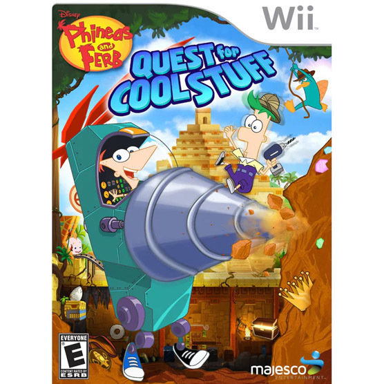 Wii Phineas and Pherb Quest for cool stuff