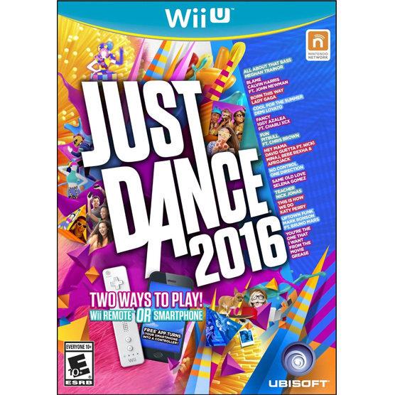 WiiU Just Dance 2016