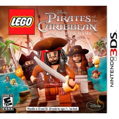 3DS Lego pirates of the caribbean