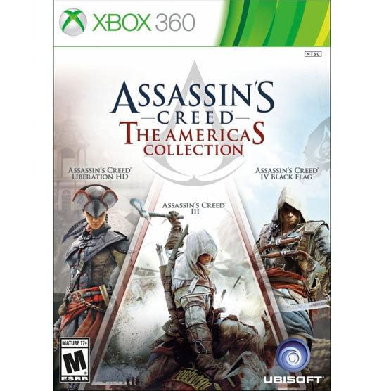 XBOX 360 Assassins Creed Americas Coll. (3 juegos)