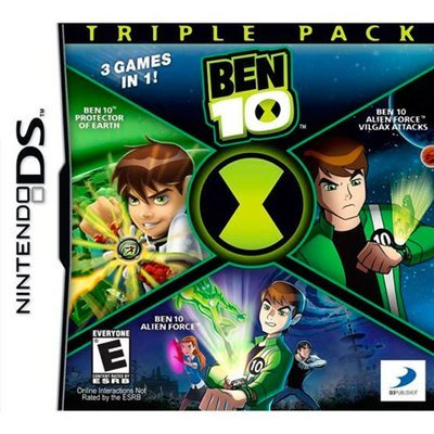 DS Ben 10 Triple Pack