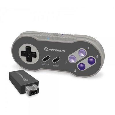 Control SNES Inalambrico Classic Edition 2.4 Ghz Compatible con wii y wiiu