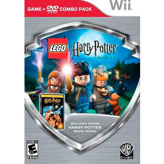 Wii Lego harry potter 1-4+ pelicula