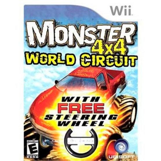 Wii Monster 4x4 + Timon