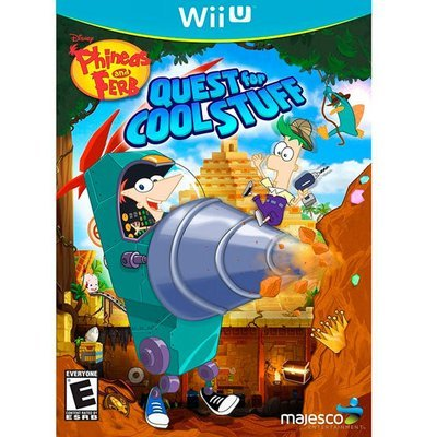 WiiU Phineas and Pherb Quest