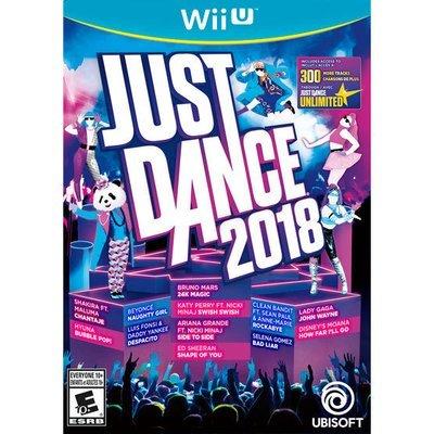 WiiU just dance 2018