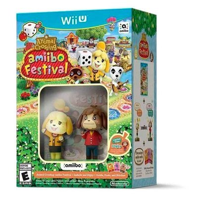 WiiU Amiibo Festival +2 Amiibo + 3 tarjetas