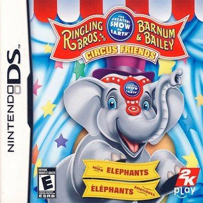 DS Ringling Bros Barnum & Bailey