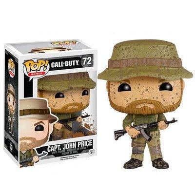 Funko Pop Call Of Duty Cap. John Price (72)