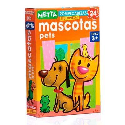 Rompecabezas Mascotas (24 piezas)
