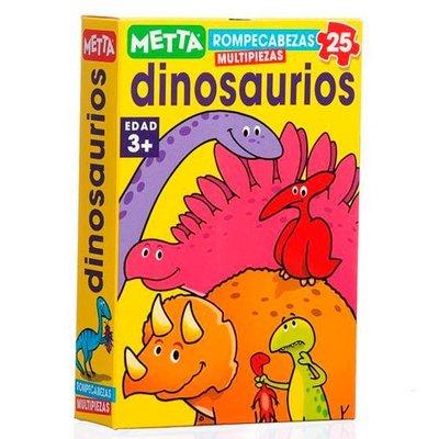 Rompecabezas Dinosaurios (25 piezas)