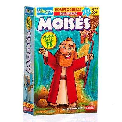 Rompecabezas Moises (12 piezas)