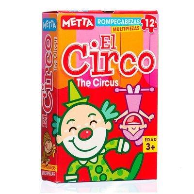 Rompecabezas El circo (12 piezas)