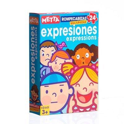 Rompecabezas Expresiones (24 piezas)