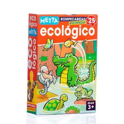 Rompecabezas Ecologico (25 piezas)