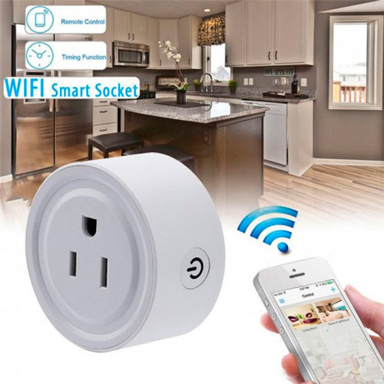 Enchufe inteligente Guatemala. Smart Socket. Enchufe Smart compatible con Alexa Siri Google