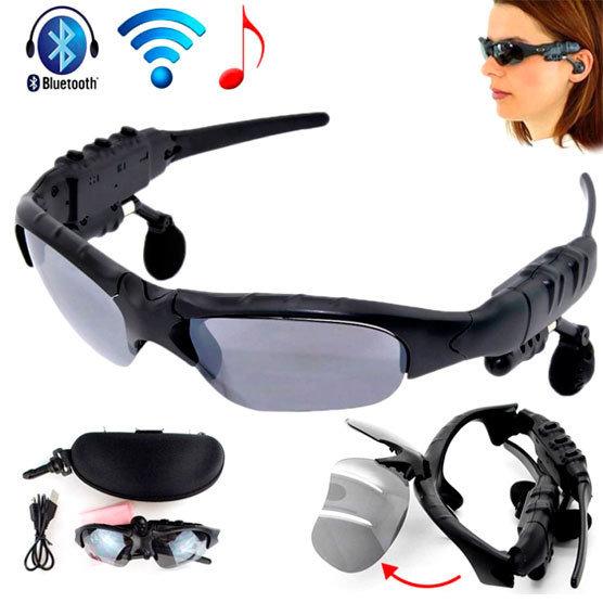 Lentes de Sol con Bluetooth, MP3 y Microfono