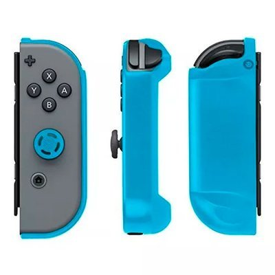 Nintendo Switch Armor guards para control Joy-con + botones. Negros y azul