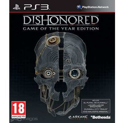 PS3 Dishonored GOTY