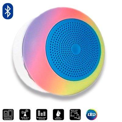 Bocina Bluetooth Contra Agua con Luz LED Bytech