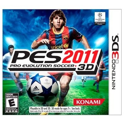 3DS PES Pro Evolution Soccer 2011