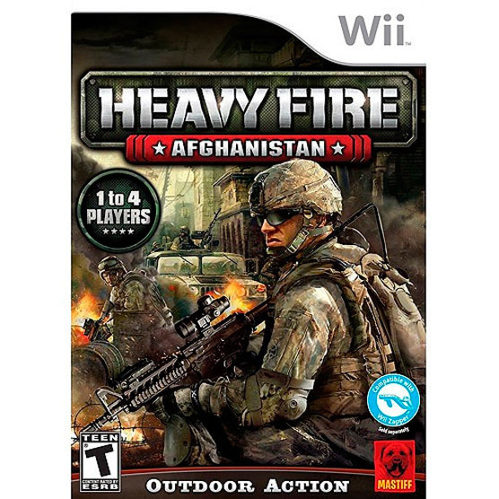 WII Heavy Fire Afganistan