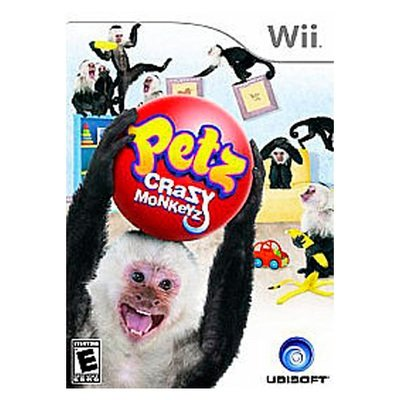 WII Petz crazy monkeys (usado garantizado)