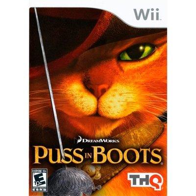 WII Puss in Boots (usado garantizado)
