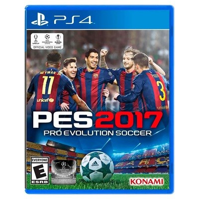PS4 PES Pro evolution Soccer 2017