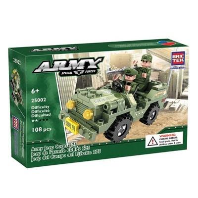 Army Jeep Corps (108 piezas)