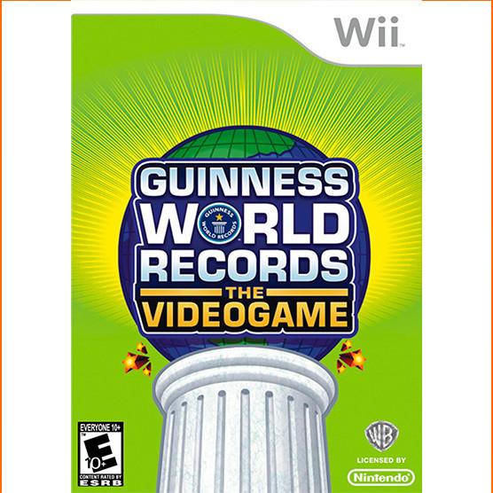 """Wii Guiness world records """"usado garantizado"""""""