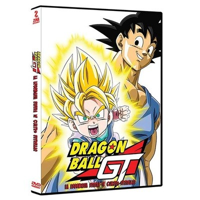 DVD Dragon Ball La Legendaria Esfera de 4 Estrellas