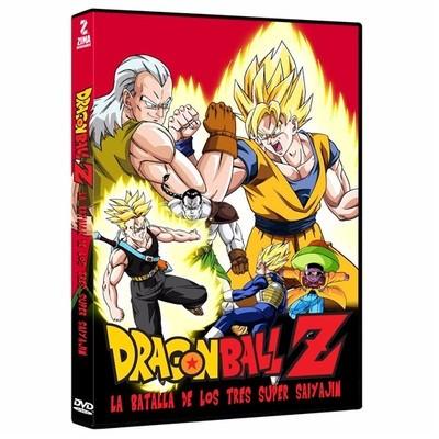 DVD Dragon Ball: La Batalla de los Tres Super Saiya-Jin