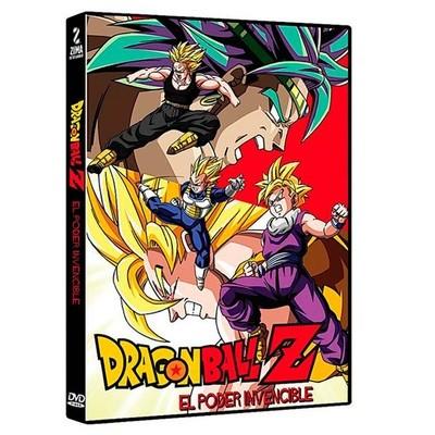 DVD Dragon Ball El Poder Invencible