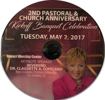 2nd Pastoral & Church Anniversary CD