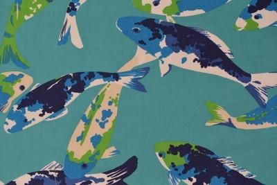 Koi- turquoise