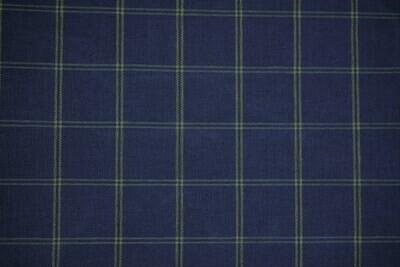 Plaid_royal Blue/Yellow