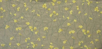 Embroidery Green-yellow