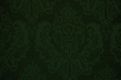 Forest-Green (Damask Woven)
