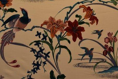 Exotic Bird Garden-Cream Base Multi
