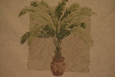 Palmetto-Hills-Green/Tan (Sold By Frames/ Not Yards)