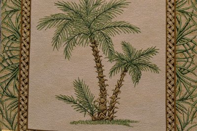 Palm Paradise-Palm (Sold By Frames/ Not Yards)