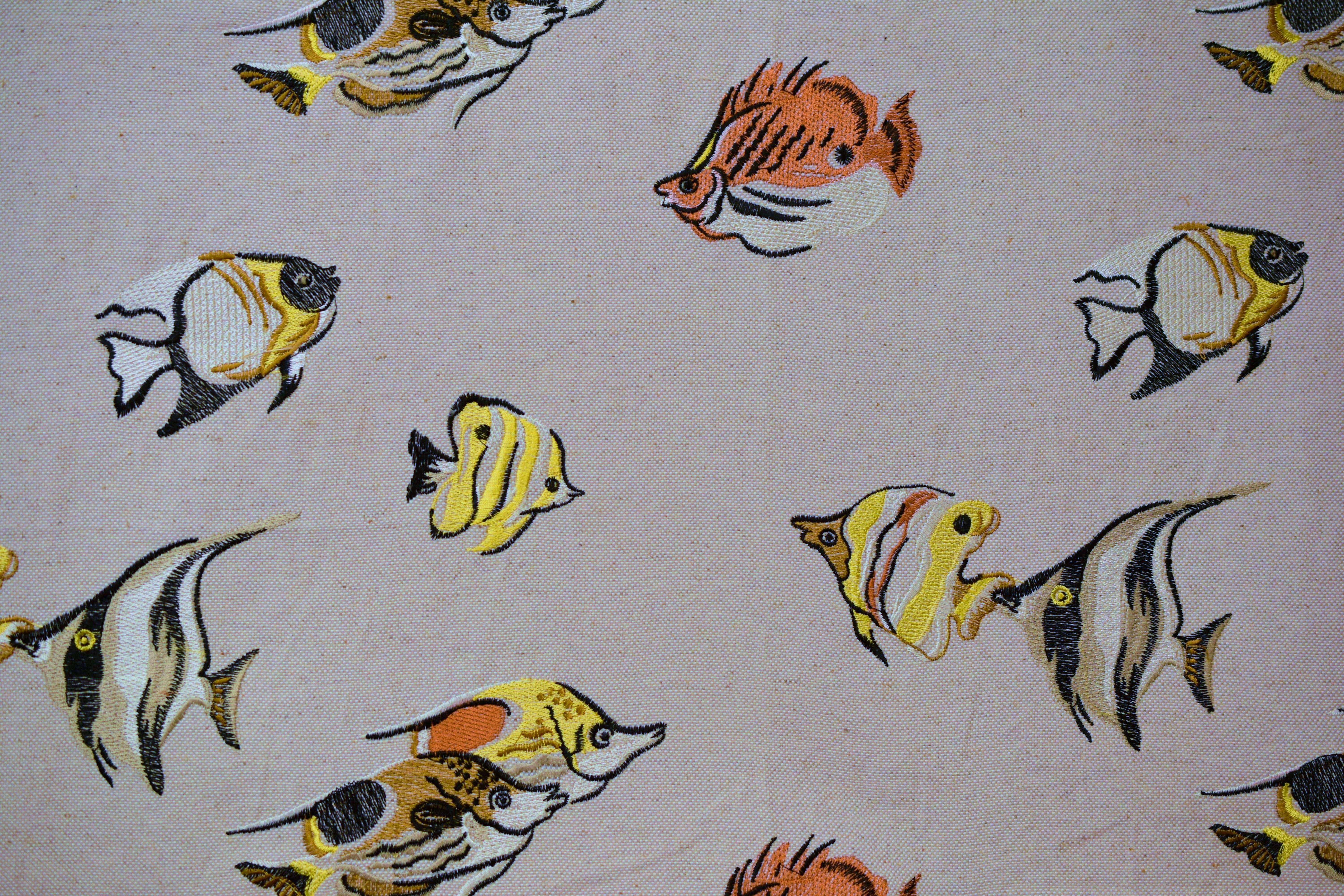 Fish One-Multi Embroidery 3275